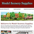 eCommerce Development for Model Scenery Supplies
