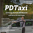 Single Page Website Design for PD Taxi, Norfolk
